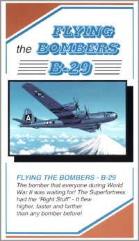 Flying the Bombers, B-29