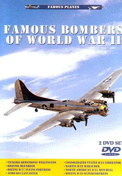 DVD: Famous Planes: Famous Bombers of World War II, Vol. 1 & Vol. 2 Twin-Pak