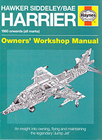 Hawker Siddeley/BAE Harrier Owners Workshop Manual