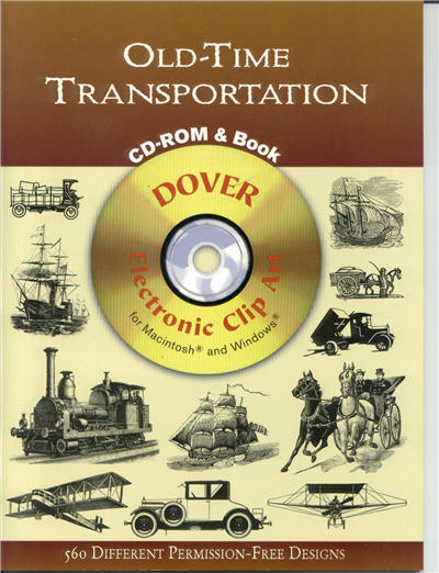 Old-Time Transportation CD-ROM & Book