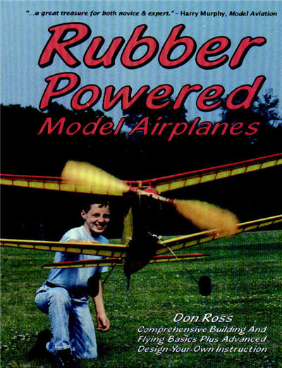 Teknik merangkai pesawat terbang bertenaga karet gelang