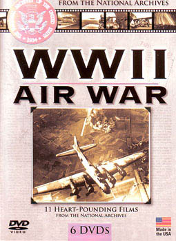 WWII Air War - 6 DVDs - 11 films