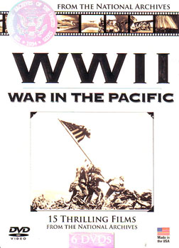WWII - War in the Pacific  DVD