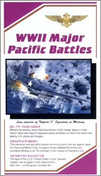 Video: WWII Major Pacific Battles