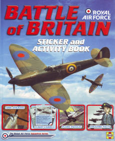 Battle of Britain Sticker & Activity Book