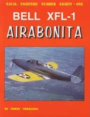 Naval Fighters Number Eighty-One: Bell XFL-1 Airabonita