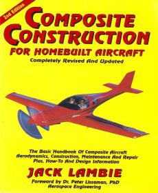 Composite Construction for Homebuilt Aircraft