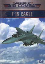 Legends of Air Combat - F-15 Eagle  DVD