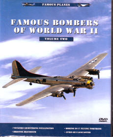 DVD: Famous Planes: Famous Bombers of WWII, Vol. 2