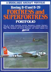 Boeing B-17 & B-29 Fortress & Super Fortress (Brooklands Aircraft Portfolio)