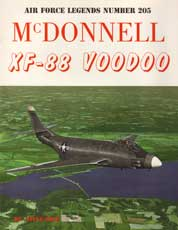 Air Force Legends Number 205: McDonnell XF-88 Voodoo