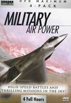 DVD: Military Air Power - High-Speed Battles and Thrilling Missions in the Sky