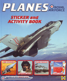 Planes of the RAF Sticker & Activity Book
