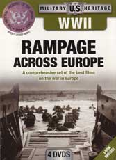 DVD: Military Heritage: WWII Rampage Across Europe - A Comprehensive set of the Best Films on the War in Europe