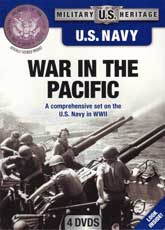 DVD: Military Heritage: U.S. Navy - War in the Pacific: A comprehensive set on the U.S. Navy in WWII