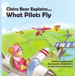 Claire Bear Explains... What Pilots Fly